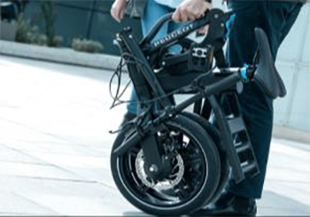 peugeot ef01 electric folding bike
