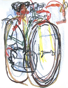 bicycle paintings