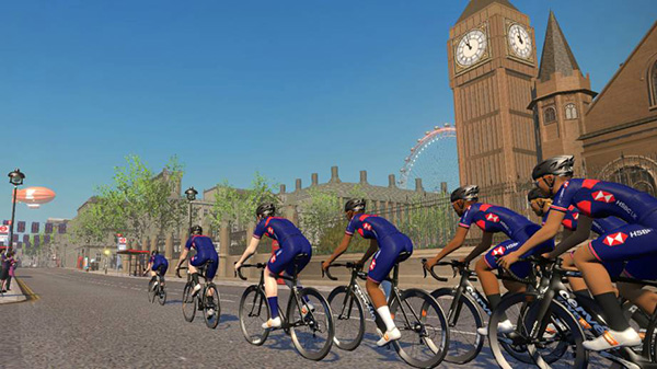 british cycling + zwift