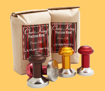 chris king espresso tamper