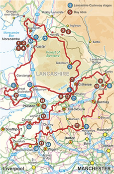 cycling the lancashire cycleway - jon sparks