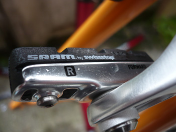 sram red brake shoes