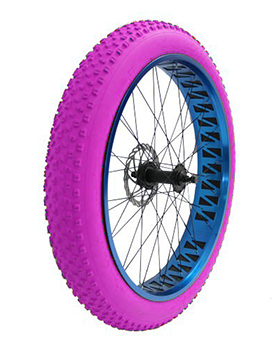 coloured tyres