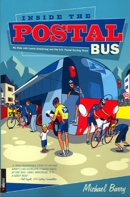 inside the postal bus