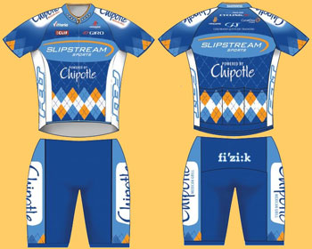 slipstream winning jersey design