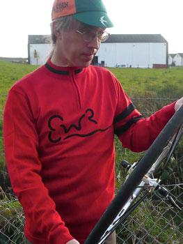 earth, wind and rider jersey