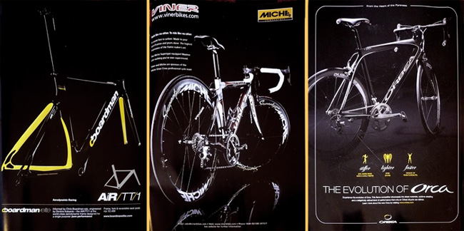 cycle adverts