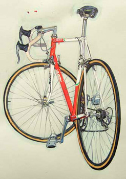 andy hampsten's bike