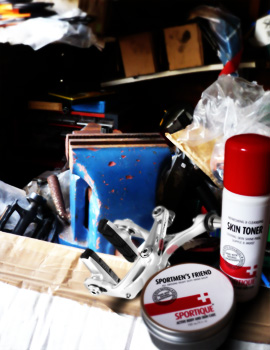 sportique skin toner and sportmen's friend