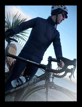 rapha winter cap & jersey