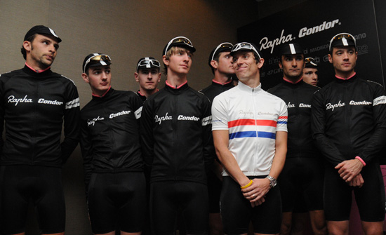 rapha team launch