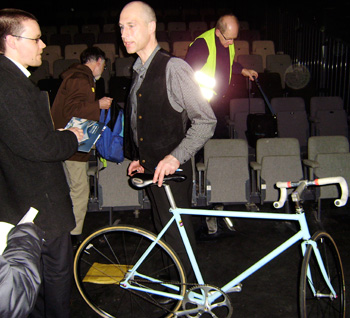 graeme obree and bicycle