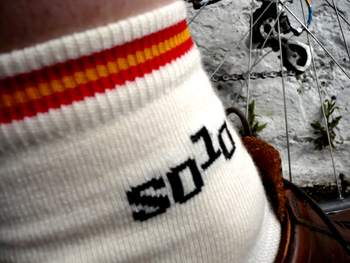 solo luxury merino socks