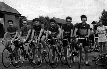 1940s club cyclists