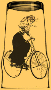 bicycles, bunnies, bonnets and booze