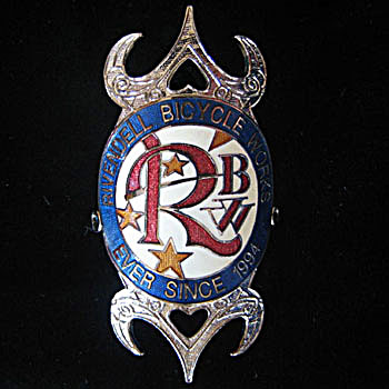 rivendell head tube badge