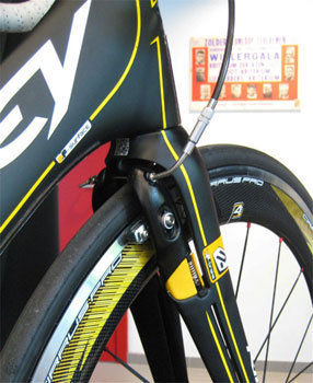 ridley integrated brake