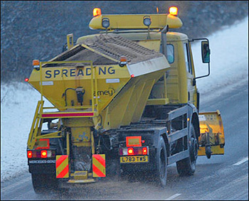 gritting truck
