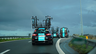 team sky ford mondeos