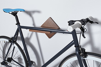 loma living mahogany bike rack