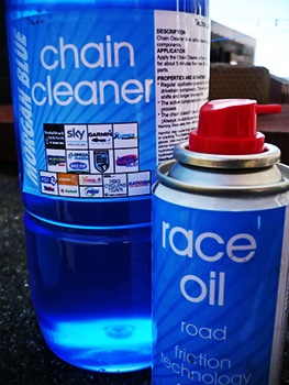 morgan blue cleaner and oil