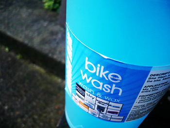 morgan blue bike wash