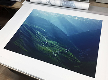 michael blann mountain prints