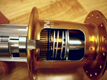 chris king rear hub