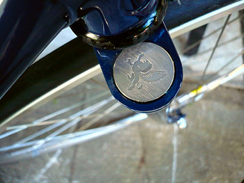 courage bicycle fork crown