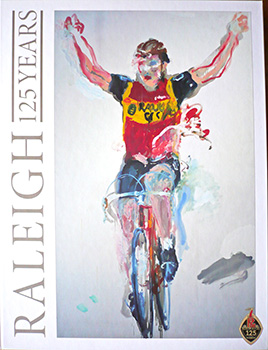 raleigh 125 anniversary book