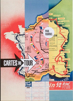 cartes du tour - paul fournel