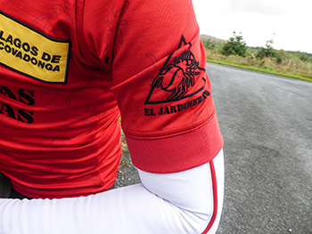 rapha colombia kom jersey