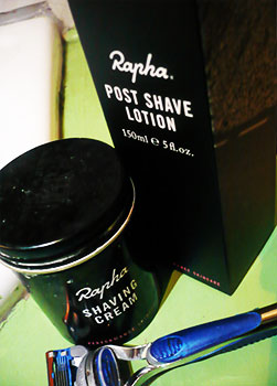 rapha post shave lotion