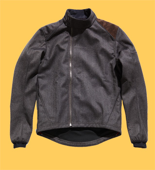 rapha tweed softshell