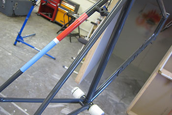 shand cycles paint shop