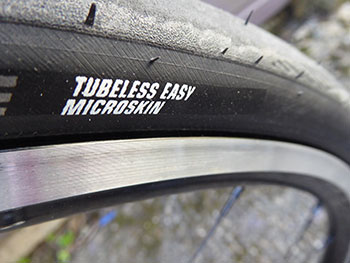 schwalbe tubeless & wheelsmith ascent