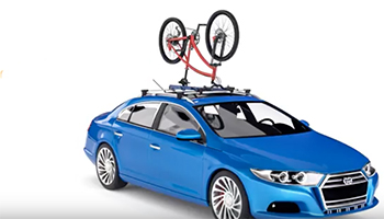 upside car roof rack