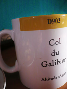 galibier tea mug