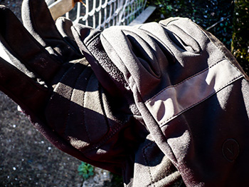 vulpine softshell gloves